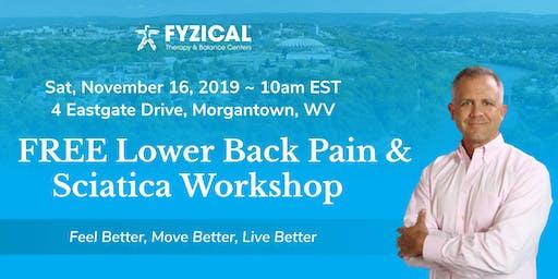 FREE Lower Back Pain & Sciatica Workshop