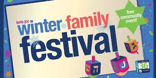 Levis JCC Winter Family Festival – A Free Community Event!