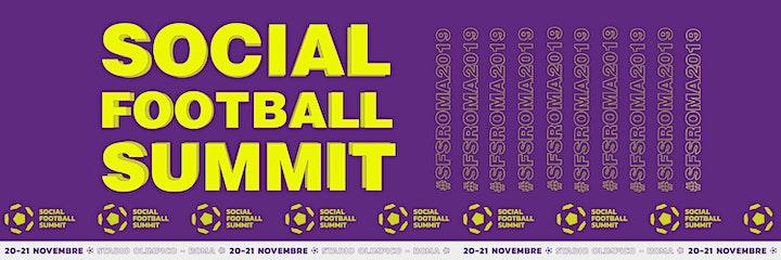 Immagine SOCIAL FOOTBALL SUMMIT 2019