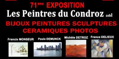 Peintres du Condroz 71ème Exposition
