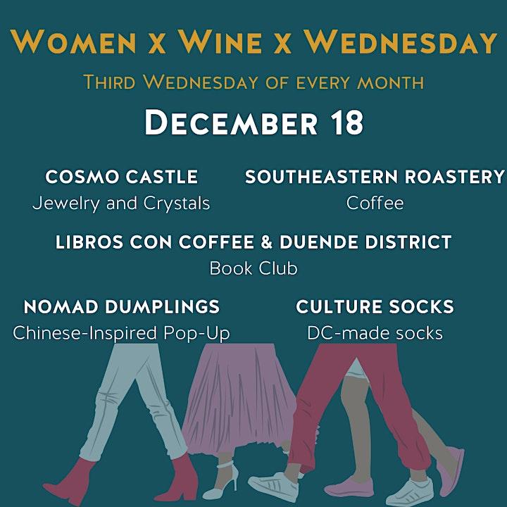 Women x Wine x Wednesday image