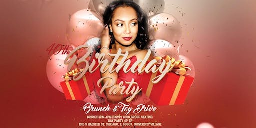 BRUNCH OF GIVING: A BIRTHDAY PARTY BRUNCH & TOY DRIVE