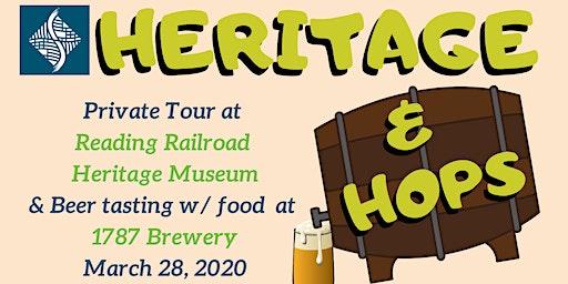 1787 Brewery & Reading Railroad Heritage Museum (Heritage & Hops Series)