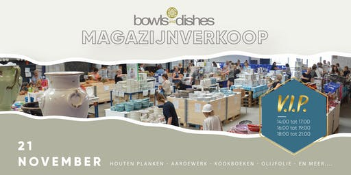 VIP Magazijnverkoop Bowls and Dishes