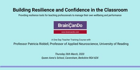 Building Resilience and Confidence in the Classroom tickets