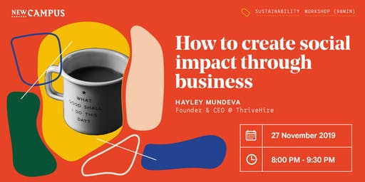 How to create social impact through business