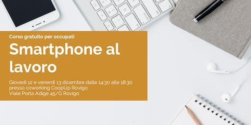 SMARTPHONE AL LAVORO