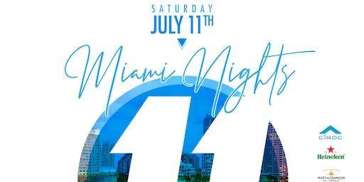 11th Annual Miami Nights All White Affair