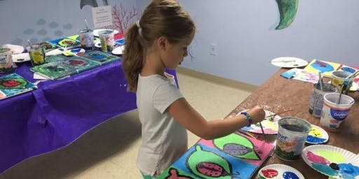 Penguin Painting Class (Ages 5-10)