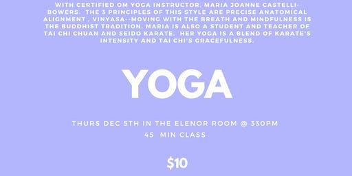 Yoga @ BMC