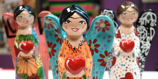 Paint Your Own Amiga Angel Statue