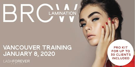 Brow Lamination Training Course tickets