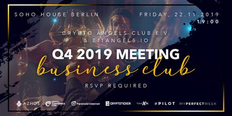 Exklusives VIP Dinner im SohoHouse Berlin Tickets