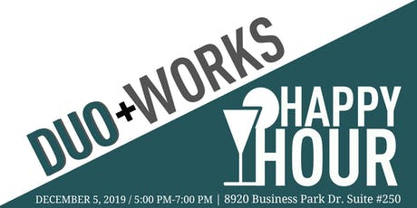 Duo Works Happy Hour tickets