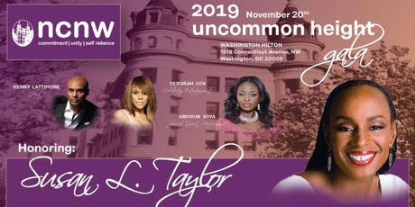 NCNW 2019 Uncommon Height Gala tickets