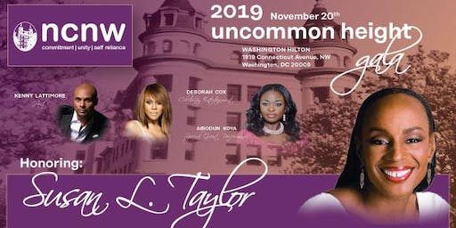 NCNW 2019 Uncommon Height Gala