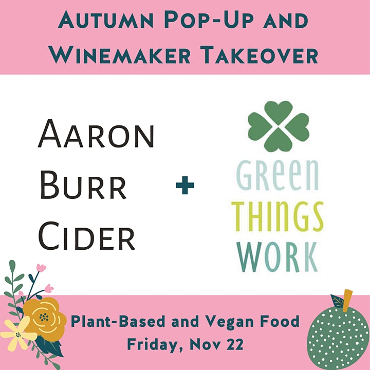 Aaron Burr Takeover and Green Things Work Pop-Up image