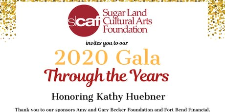 2020 Gala: Through the Years tickets