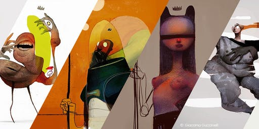Workshop a Torino: Giacomo Guccinelli - Draw It in Your Style