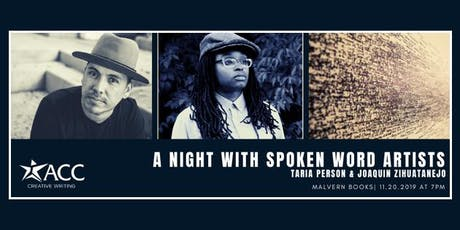 ACC Creative Writing Event: A Night with Spoken Word Artists tickets