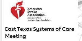 East Texas Systems of Care Meeting