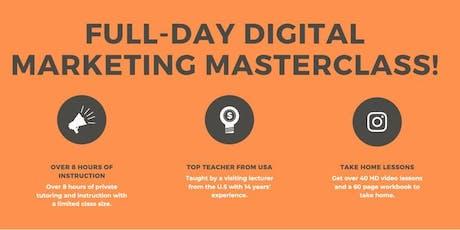 Full-Day Digital Marketing Masterclass With AndrewStartups tickets