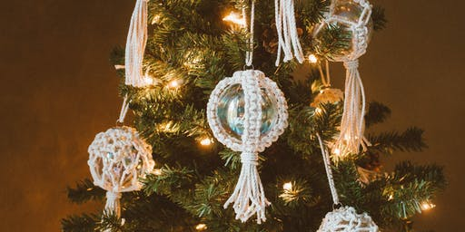 Macrame Ornament Workshop