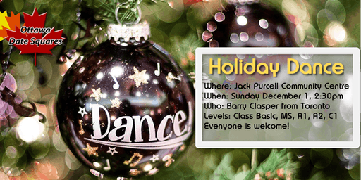 Ottawa Date Squares Holiday Dance