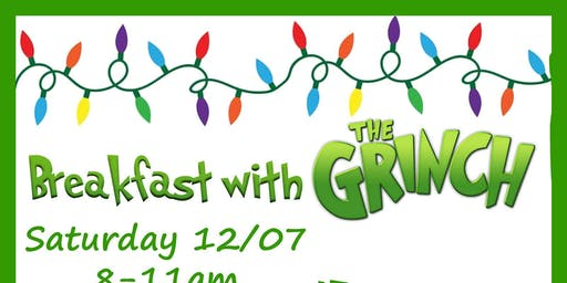 Breakfast with Grinch -12/7