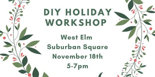 DIY Holiday Workshop