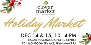 Clover Market's Holiday Market - Early Bird Shopping...