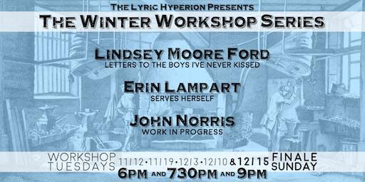 Lyric Hyperion Presents: The Winter Workshop Series