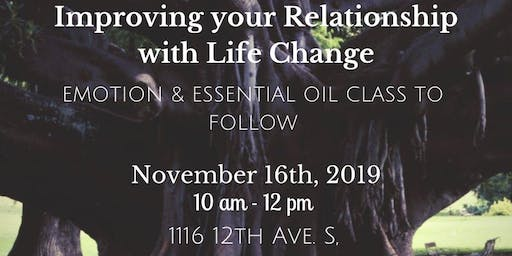 Life Change and Essential Oil Class