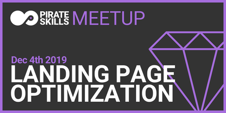 Landing Page Optimization | Meetup Tickets