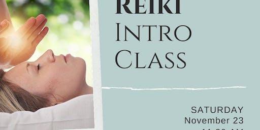 Reiki Intro Class