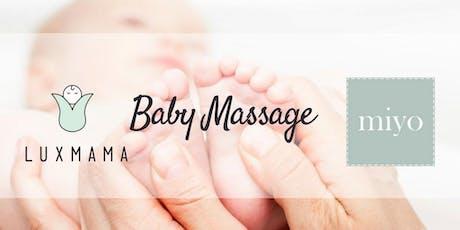 Baby Massage Foundation Course (Luxmama Prenatal ParentPrep) - JUN 2020 billets