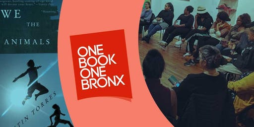 One Book One Bronx: We the Animals by Justin Torres (Book Club)
