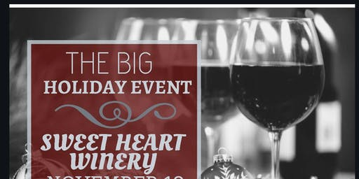 Sip, Shop and be Merry Holiday Bash