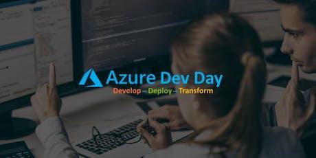 Azure Dev Day tickets