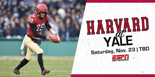 136th Harvard-Yale Game Viewing Party - November 23rd