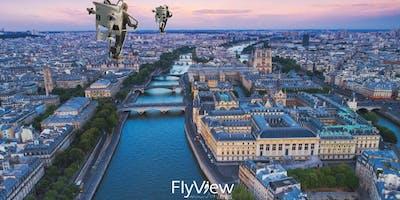 Survol de Paris en réalité virtuelle avec FlyView