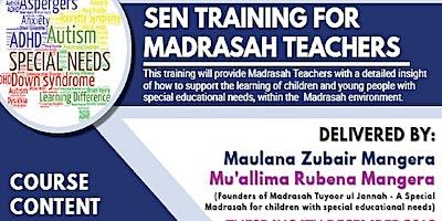 Sen Training for Madrasah Teachers