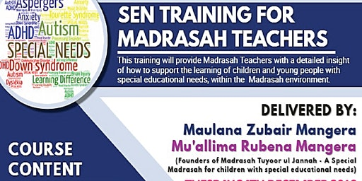Sen Training for Madrasah Teachers