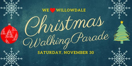 We Love Willowdale Christmas Walking Parade tickets