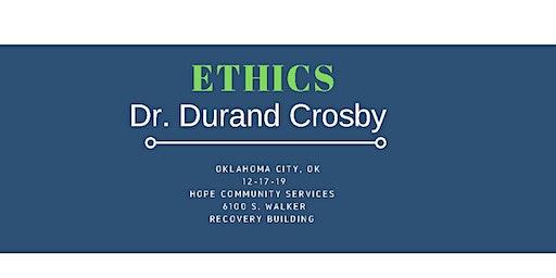 Ethics for Mental Health & Addiction Treatment Professionals