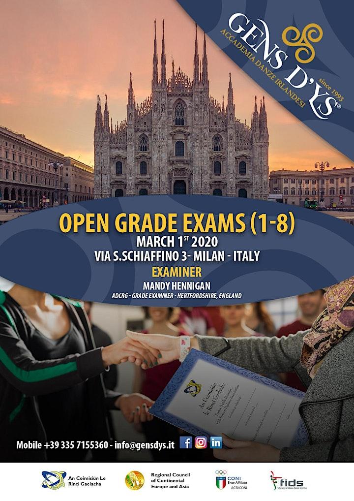 Immagine Grade Exams 2020