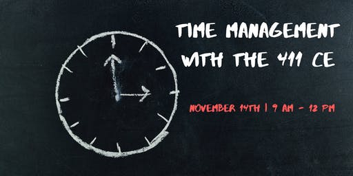 Time Management with the 411 CE