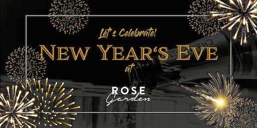Silvester Dinner & Entertainment at Rose Garden