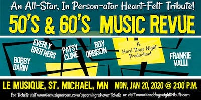 50's & 60's Musical Review