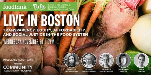 Conversations About Food: Food Tank Live in Boston Speakers Series